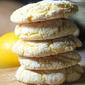 Lemon Crinkle Cookies - Made with Cake Mix!