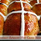 Cherry-Apricot Hot Cross Buns