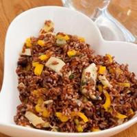 pine nut date and camargue red rice salad red rice and quinoa salad ...