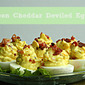 Bacon Cheddar Deviled Eggs- Recipe Swap