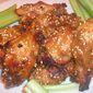 Japanese-Style Chicken Wings with Miso-Sesame Glaze