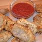 Mongolian Filled Pockets (Khuushuur) with Homemade Fresh-Tomato Ketchup
