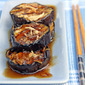 Grilled Eggplants in Garlic Oyster Sauce