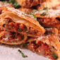 Sausage Pizza Egg Rolls