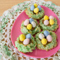 Easter Week: Coconut Macaroon Easter Egg Nests
