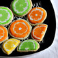 Eggless Fancy Lemon Cookies with Royal Icing - a guest post by Julie