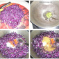 Red cabbage paratha recipe