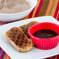 Eggo Churro Wafflers with Chocolate Dipping Sauce