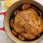 Roasted Chicken with Lemon, Lavender and Fennel