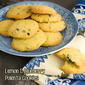 Lemon & Blueberry Polenta Cookies