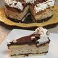 Frozen Cappuccino Crunch Cake