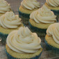 Vanilla Cupcakes with Vanilla Buttercream