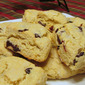 Lemon Cornmeal Scones with Dried Cherries