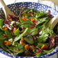 Winter Salad & Simple Balsamic Vinaigrette