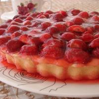 Strawberry Jelly Cake Recipe