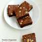 Double Chocolate Zucchini Brownies