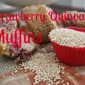 Strawberry Quinoa Muffins {Secret Recipe Club}