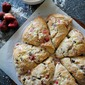 Strawberry Chocolate Chip Buttermilk Scones