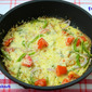 Mixed Vegetable, Egg and Cheese Frittata