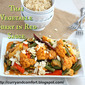 Thai Vegetable Curry in Red Sauce - a guest post by Ramona