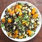 Wild Rice with Butternut Squash, Leeks and Corn