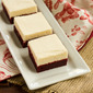 White Chocolate Frosted Red Velvet Brownies!