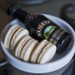 Ode to St. Paddy: Bailey's Irish Cream macarons