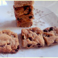 Square Chocolate Chip Cookies