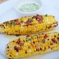 Grilled Corn with Chipotle Butter and Lime Salt