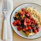 Recipe for Hake Loins Baked with Tomato, Kalamata Olive, and Caper Salsa