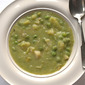 Spring forward, fall back: Creamy Green Pea and Potato Soup offers hope, comfort