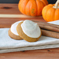 Pumpkin Spiced Cookies with Browned Butter Frosting
