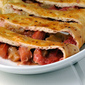 Strawberry Rhubarb Calzone