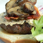 Mushroom and Bacon Burgers