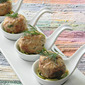 Salmon Meatballs in a Coconut Broth - Vita Coco Pure Coconut Water Recipe Contest Entry #3