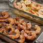 Baked Shrimp Scampi and Barbecue Glazed Shrimp