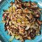 Vegetable Stir-Fry Recipe with Endive & Shiitake Mushrooms