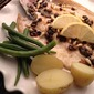 Butterflied Trout with Currants, Capers, and Pine Nuts in a Lemon Butter Sauce