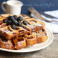 French Toast Waffles | Waffles Made With Bread