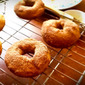 RECIPE: Baked Whole Wheat, Maple & Cinnamon Sugar Doughnuts