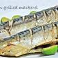 oven grilled mackerel