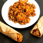 Gobi Channa Wrap/Chickpeas Cauliflower Wrap