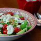 Light and Creamy Blue Cheese Dressing
