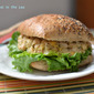 Make an Earth Day Resolution: Vegan Mock Tuna Salad on Ciabatta bun