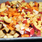 Roasted Stone Fruit and Arugula Bow Tie Pasta Salad