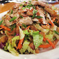 Asian Chicken Salad With Toasted Sesame Ginger Dressing