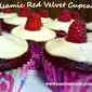 Balsamic Red Velvet Cupcakes