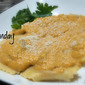 Spicy Beef & Italian Sausage Ravioli with Sweet Potato Cream Sauce: Monday