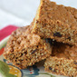 Cinnamon-Raisin Oatmeal Squares