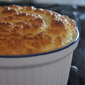 Salt Lick Green Onion and Cheese Souffle